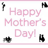 happy mother day Логотип template