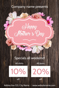 Happy Mother's day Savings