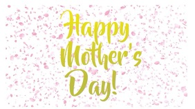 happy mother's day video Digitale Vertoning (16:9) template