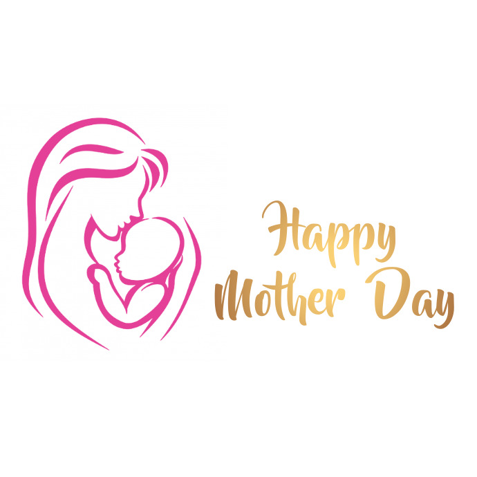 happy mothers day Logo template