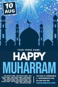 Happy Muharram Poster