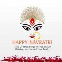 HAPPY NAVRATRi Message Instagram template