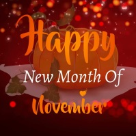 Happy new month Pos Instagram template