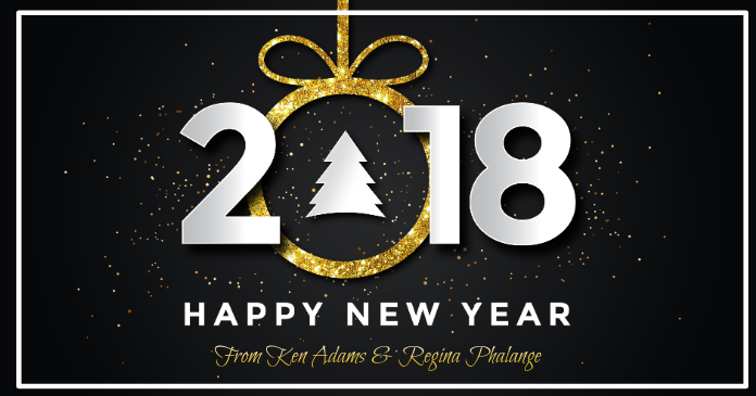Happy New Year 2018 Facebook Post template | PosterMyWall