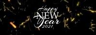 Happy New Year 2020 Confetti