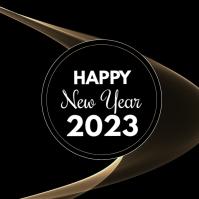 Happy New Year 2020 Greeting Card Wish