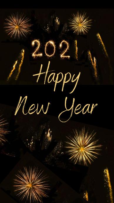 Happy new year 2020 instagram story