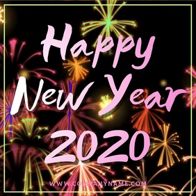Happy New Year 2020 Instagram Video