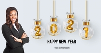 HAPPY NEW YEAR 2021 Gambar Bersama Facebook template