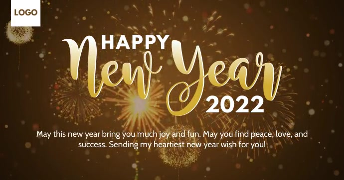 Happy New Year 2021 Template Gambar Bersama Facebook