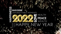 Happy New Year 2021 Greeting Video Firework template