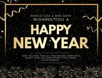 Happy New Year Advertisement Banner
