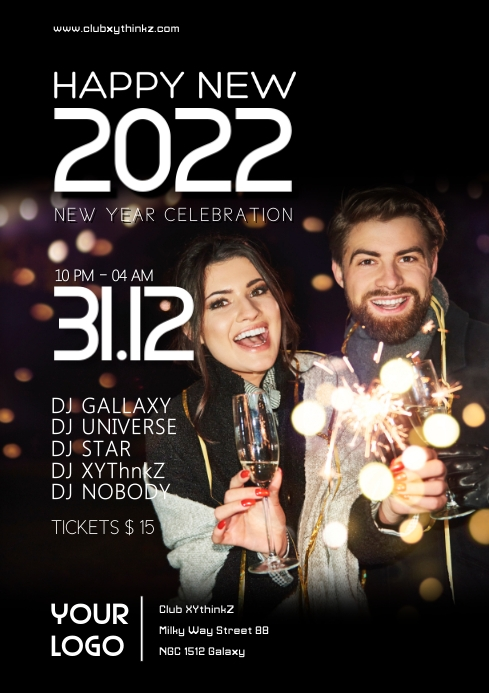 happy new year celebration 2021 party event