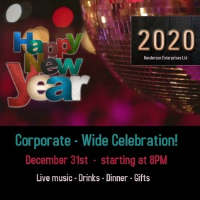 happy new year/celebration/party/corporate