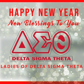 Happy New Year Delta Sigma Theta