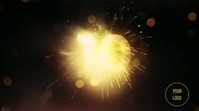 HAPPY NEW YEAR Pantalla Digital (16:9) template