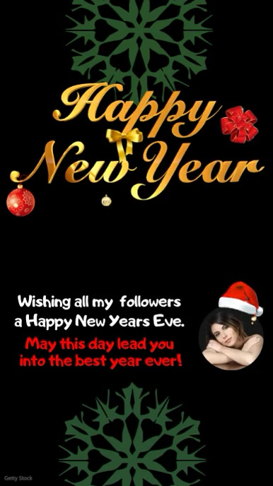Happy New Year Template   PosterMyWall