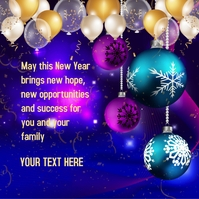Happy New Year Iphosti le-Instagram template