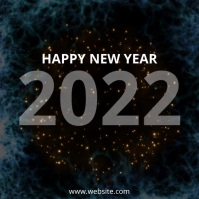 Happy New Year Design Template Instagram Post