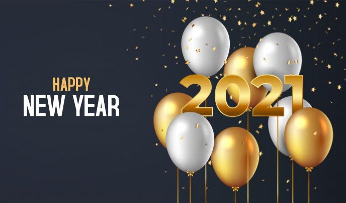 Happy New Year Tanda template