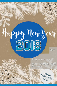 Happy New Year Poster Template