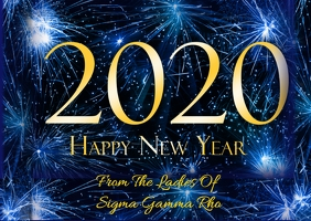 Happy New Year From Sigma Gamma Rho