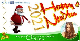 Happy New Year Greeting Facebook