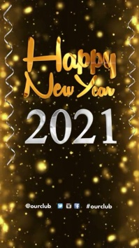 happy new year greeting new year flyer