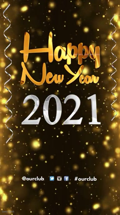 Happy new year greeting template postermywall happy new year greeting m4hsunfo