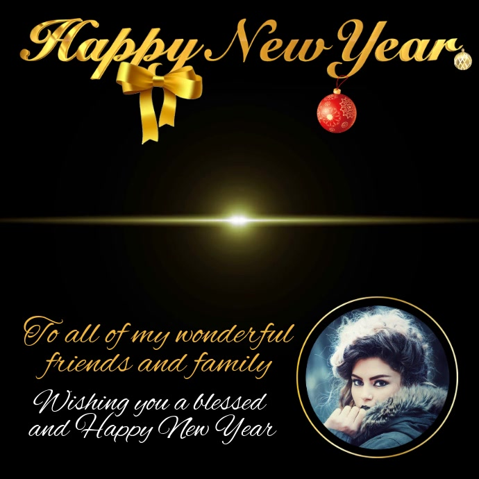 Happy New Year Greeting Video