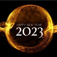 Happy New Year Greeting Video Shine Light