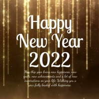Happy New Year Greeting Wishes Card Video Ad