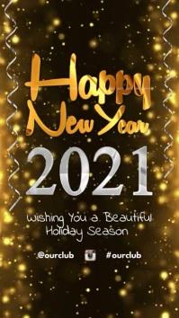 Happy New Year Instagram Story