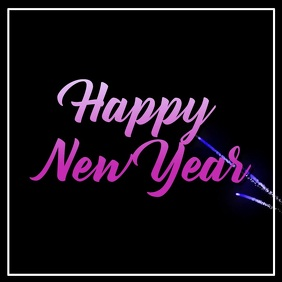 Happy New Year Instagram Video Template