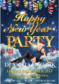 Happy New Year Party Poster