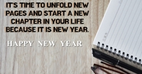 HAPPY NEW YEAR QUOTE TEMPLATE Publicité Facebook