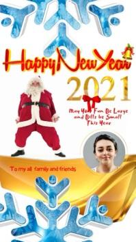 Happy New Year Story instagram