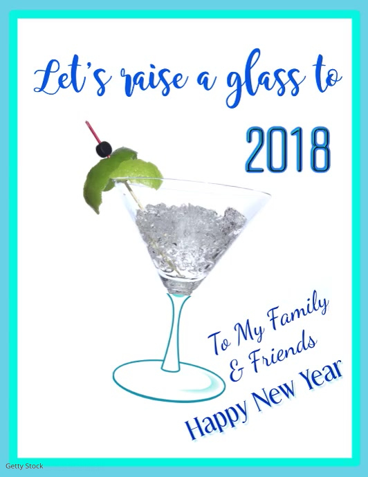 Happy New Year Flyer Video Template | PosterMyWall