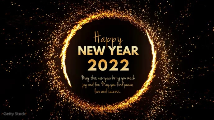 Happy new Year Video Greeting Message Wishes Template ...