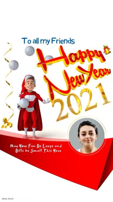 Happy New Year Video Instagram