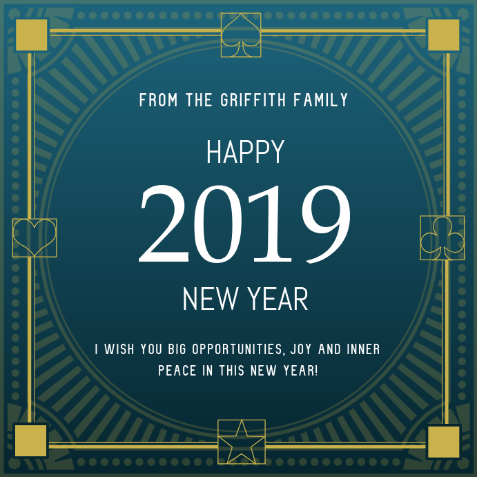Happy New Year Wish Instagram Post