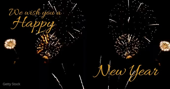 happy new year wishes customize template