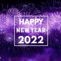 Happy New Yeas 2020 Firework Greeting video
