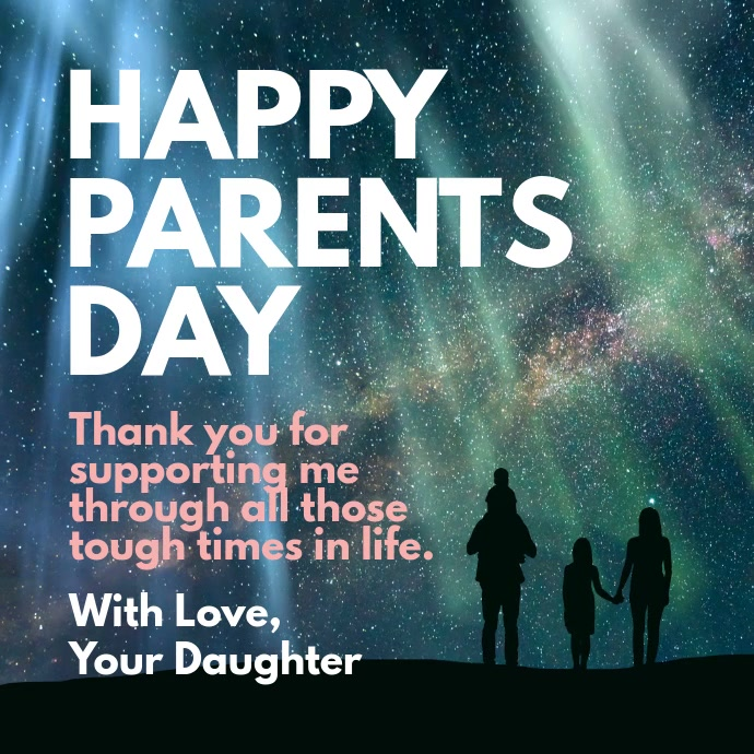 Happy Parents Day