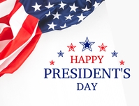 Happy Presidents Day Flyer (US Letter) template