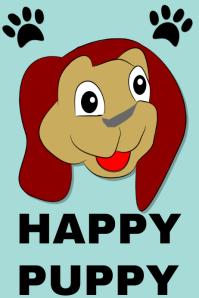 Happy puppy