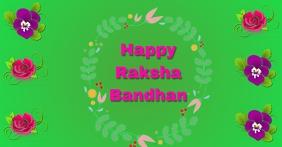 HAPPY RAKSHA BANDHAN. TEMPLATE