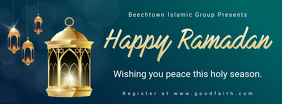 Happy Ramadan Wish Facebook Banner template