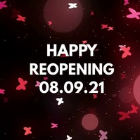 Happy Reopening Opening Butterflys Video Cele