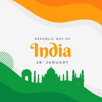 Happy Republic Day Instagram Post template